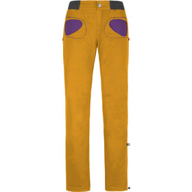 E9 Onda Story Trousers Women Sunflower